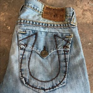 "True Religion ""Joey Super T"" Jeans"